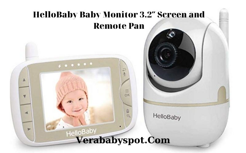 Hello Baby Monitor 3.2 Screen and Remote Pan