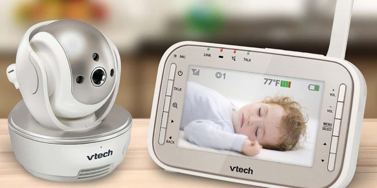 Video Display Baby Monitor for Deaf Parents